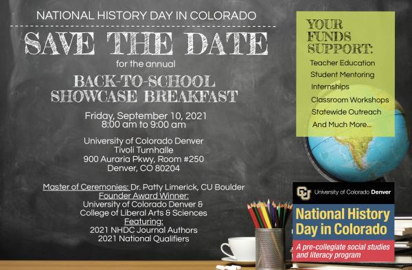 back-to-school showcase breakfast