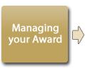 Managing your award