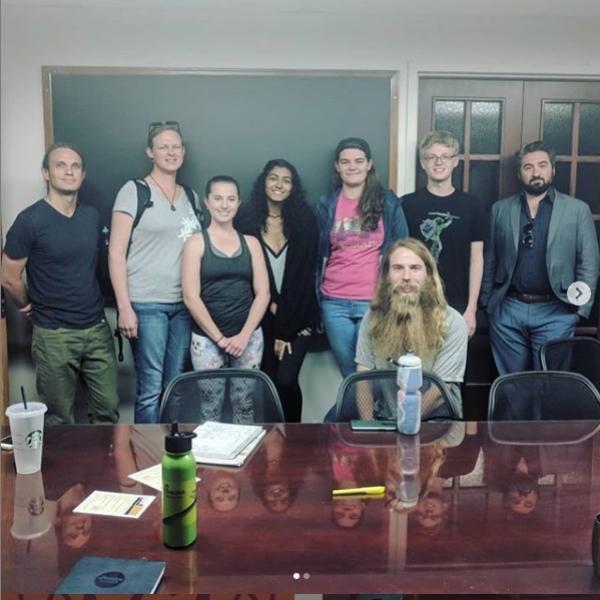 Philosophy club members