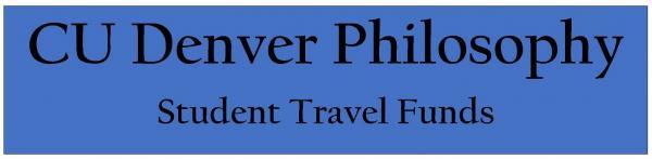 Phil Department_Travel Funds_Sponsorship_Heading