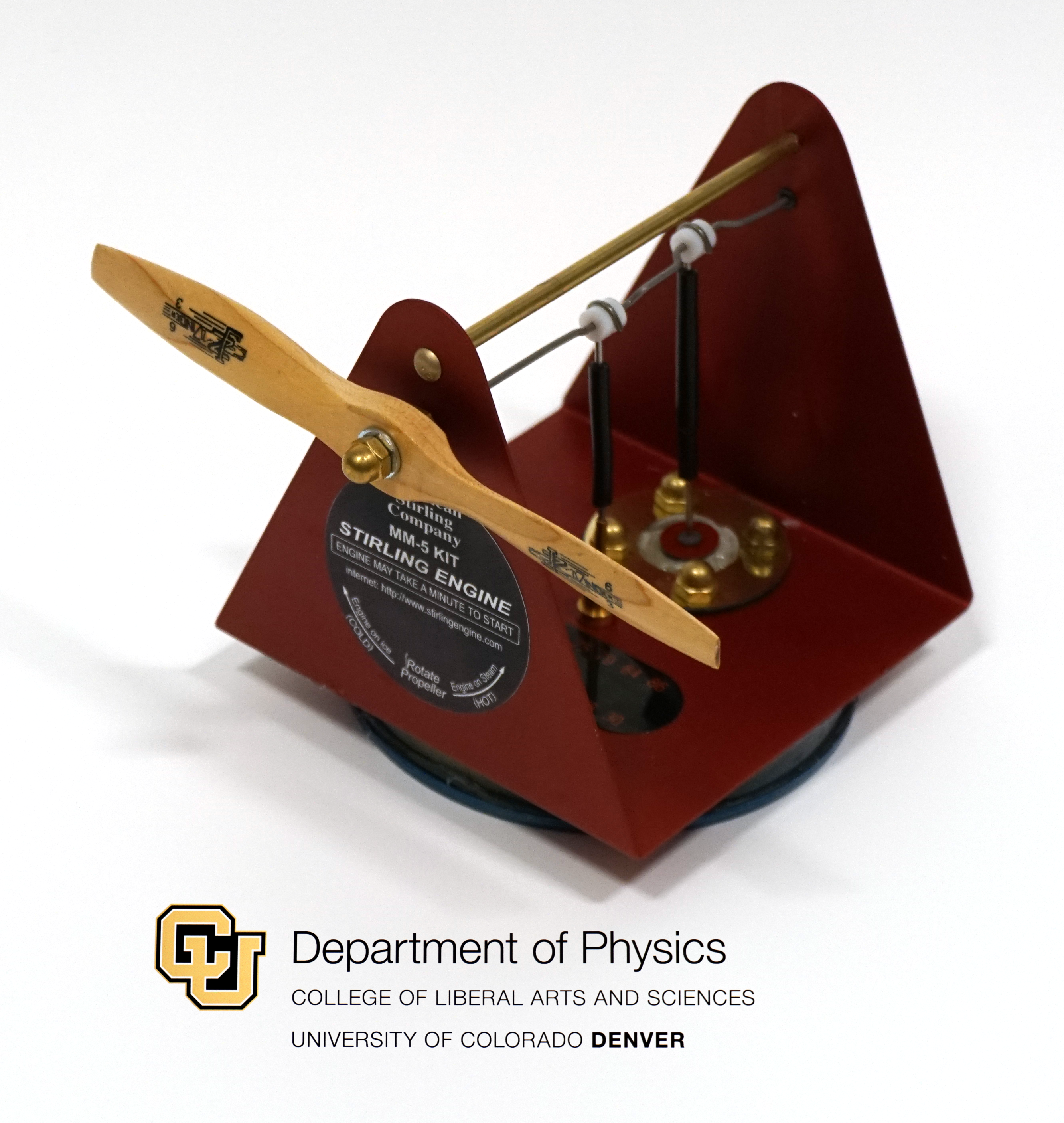 Thermodynamics Demonstration Equipment | Department of Physics