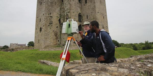 Laser Scanning Trim Castle, Ireland