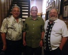 Retirees of the Mathematical and Statistical Sciences Department, Bill Cherowitzo, Rich Lundgren, and Stan Payne