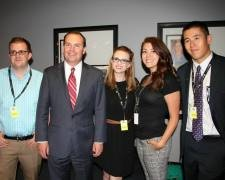 UC Denver Political Science students at the Western Conservative Summit