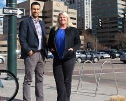 Associate Dean and Economics Professor, Laura Argys and Economics Assistant Professor, Andrew Friedson