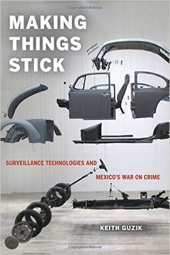 """Book cover for """"Making Things Stick"""" by Keith Guzik"""