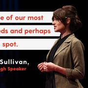 """""""Housing is one of our most basic human needs and perhaps our biggest blind spot."""" Sociology Assistant Professor Esther Sullivan, TEDx Mile High Speaker"""