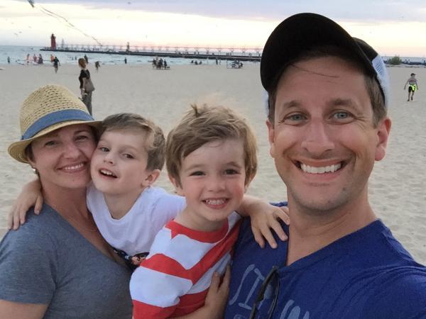 Jason Crow Family photo