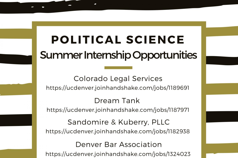 Poli Sci Summer Internship