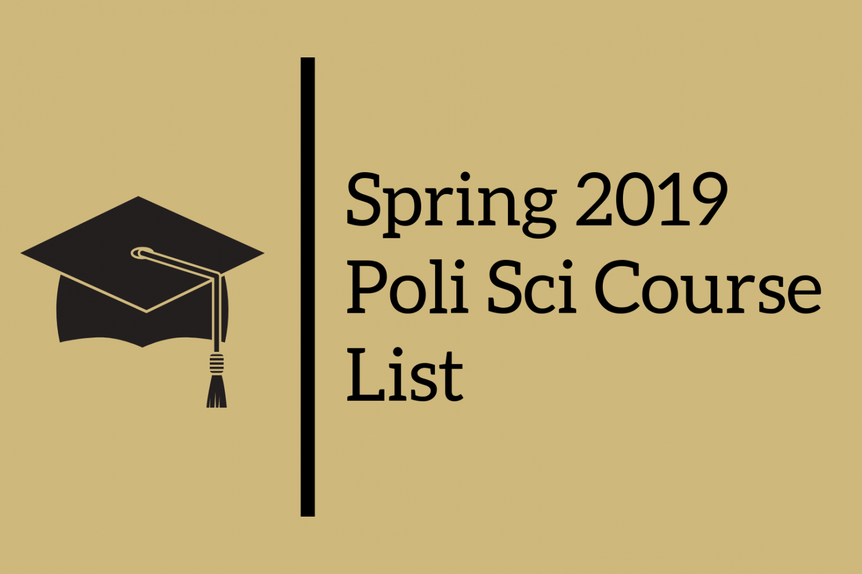 Spring 2019 PoliSci Course List