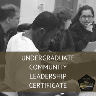 Undergraduate Community Leadership Certificate