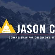 Jason Crow Congressman for Colorado's 6th District Logo