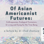 Of Asian Americanists Event info Graphic