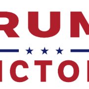Trump Victory Campaign logo with three stars in the center