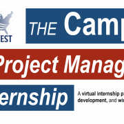 Text for Internship with logo for Flip the West Campaign & Project Management Internship: A virtual internship program focused on professional development and winning battleground campaigns