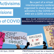 Student Activisms and Activisions in the Age of COVID - A Virtual Conference and Scholarship Opportunity