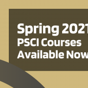 Test Reading Spring 2021 PSCI Courses Available now!