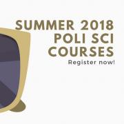 Summer Poli Sci Classes