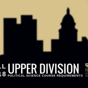 Fall 2018 Upper-Division Course Requirements