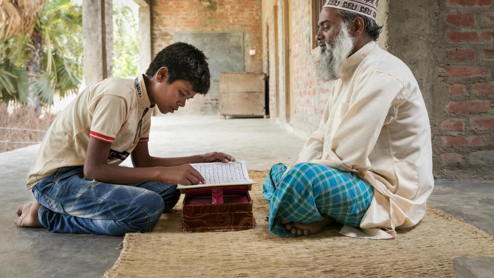 Teacher and Student Madrasa