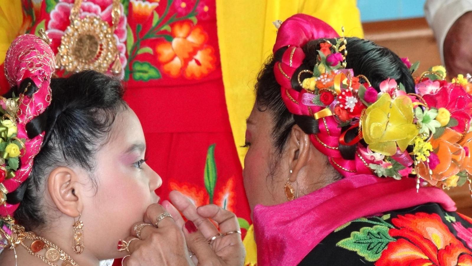Communion in Oaxaca