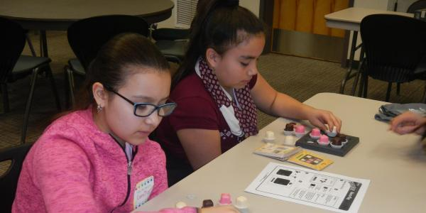 Students at Franktown Math Circle