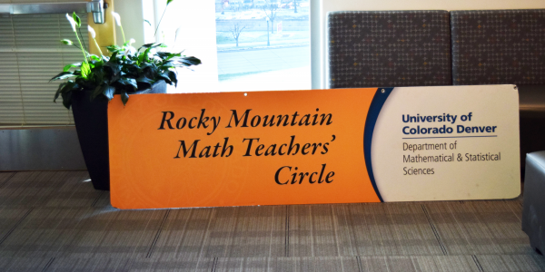Rocky Mountain Math Teachers' Circle