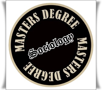 Framed image of the MA degree in sociology