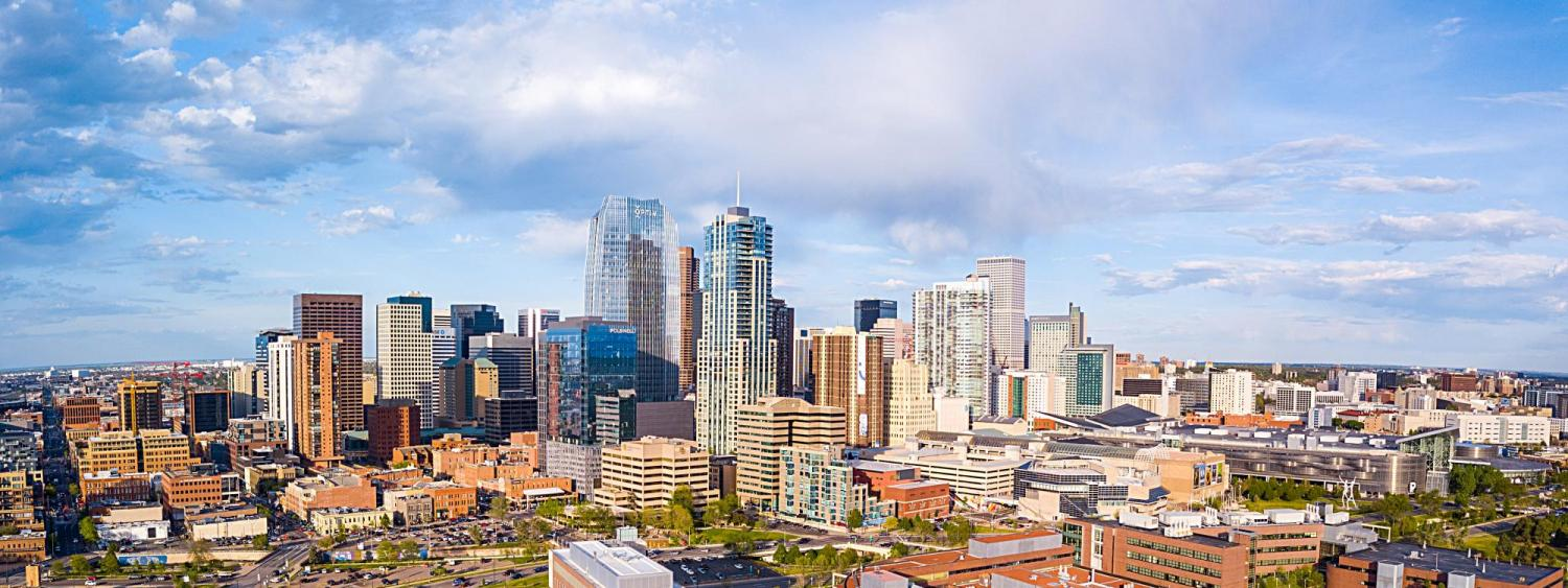 Campus and Downtown Denver Photo