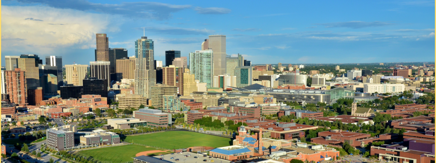 Downtown Denver and Campus