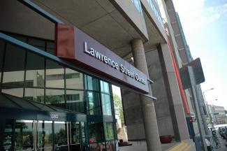 Front of Lawrence Street Center