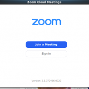 screen capture of text of zoom join screen